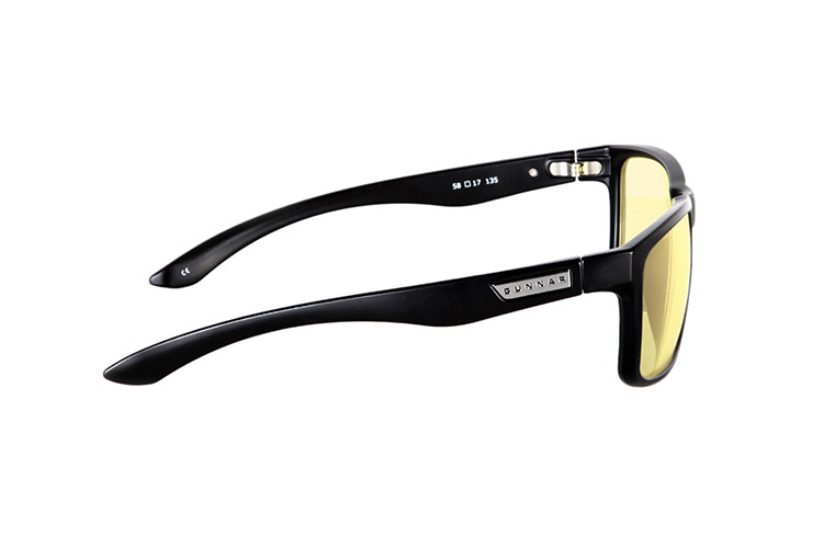 gunnar intercept onyx lunettes anti fatigue