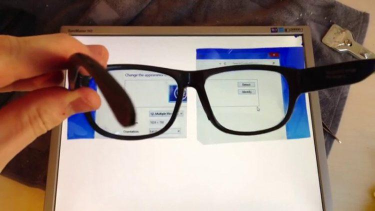 lunettes écran