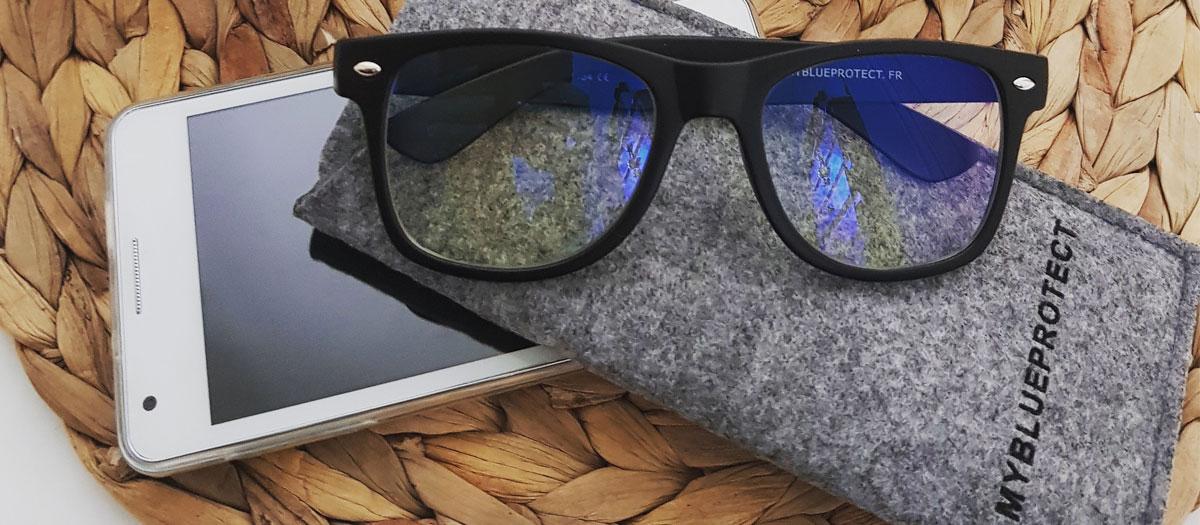 prix lunettes anti lumière bleue