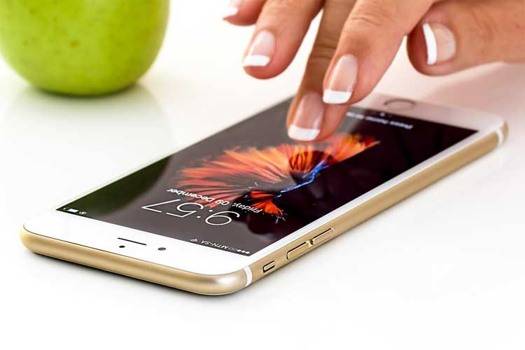 enlever lumiere bleue iphone
