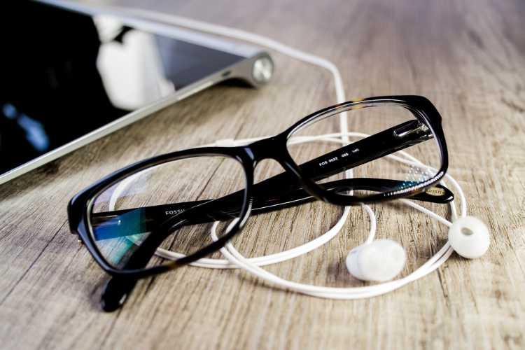 lunetttes verres jaunes filtre anti lumière bleue